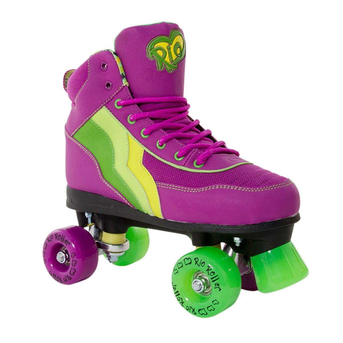 Quad roller skates amazon - Rio Roller Classic Ii Disco Roller Skates Various Colours Amazon Co Uk Sports Outdoors