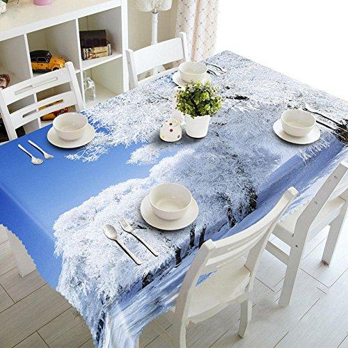 HZ 3d beau tissu de poussière de cèdre , oblong -70cm*150cm