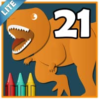 Coloring Book 21 Lite: More Dinosaurs