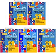 Oswaal ISC Question Bank Class 12 English, Physics, Chemistry, Maths, Biology (Set of 5 books)