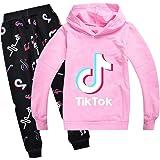 TIK Tok - Sudaderas con capucha unisex para niños
