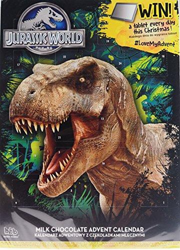 Jurassic World T-Rex Dinosaurier Weihnachten Schokolade Adventskalender