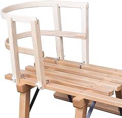 ScSPORTS Schlittenlehne aus Holz massiv 50W0016, 10000941