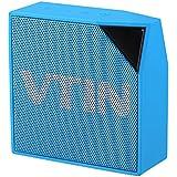 VTIN Cuber Haut-parleur/Enceinte d'Extérieur Portable Bluetooth 4.0 Waterproof avec 5W Drive Audio IP67 Résistant à l'eau et à la poussière Compatible avec iPhone 7 7 Plus 6S 6S Plus SE, iPad, Nexus, HTC, Blackberry, Google, Wiko, XiaoMi, HuaWei, etc-Bleu