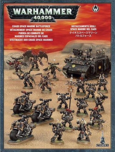 Warhammer 40.000: Chaos Space Marines Streitmacht Pyramide Marine