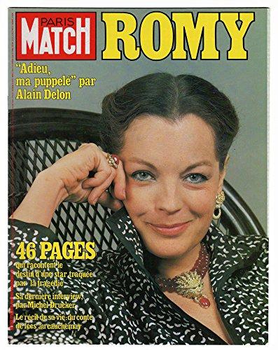 PARIS MATCH N1724 du 11-06-1982