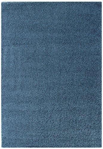 DolceMora Sehrazat Basic 170, Alfombra Acrílico, Azul, 170 x 120