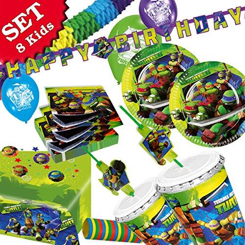 arty-Deko Set für coolen Kindergeburtstag, 63 teiliges Partyset ()