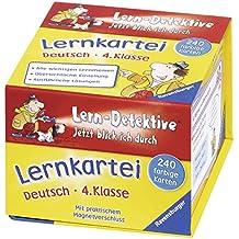 Lernkartei: Deutsch (4. Klasse) (Lern-Detektive - Jetzt blick ich durch)