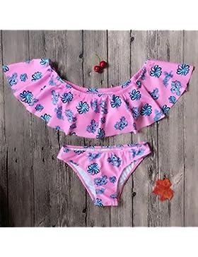 Presidente split bañador _ hojas de loto borde moderno y cómodo Bikini Moda, split-bikini, el color de la imagen...