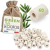 Green Koalas X60 Perles Céramique EM Grises aux Micro-Organismes Efficaces Billes Purificateur Naturel pour Filtration Eau Ro