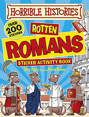 Rotten Romans (Horrible Histories Sticker Activity Book) por Terry Deary