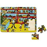 Pippi Langstrumpf - Puzzle Pippi Calzaslargas de 20 piezas [Importado de Alemania]