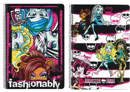 Imagen principal de Monster High Libreta Folio Tapa Dura 80H