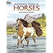 Dover Publications-Wonderful World Of Horses Coloring Book (Dover Nature Coloring Book) by John Green (2005-10-03)
