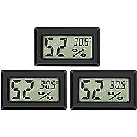 Thlevel Mini Digital LCD Thermomètre Hygromètre Température Humidité -50~70℃ 10%~99% RH Thermomètre Portable Thermo…