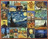 White Mountain Karton Puzzle 1000Teile 24x 30, Vincent van Gogh