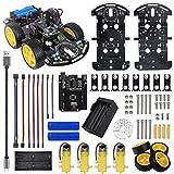 Grundlegende Smart Robot Car Chassis Kit motor Line Tracking 4wd infrarot Vermeidung hindernisse für Arduino UNO R3