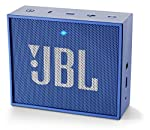 The JBL Go portable Bluetooth speaker will excite you with JBL quality sound, five-hour rechargeable battery and noise-cancelling speakerphone, all in a compact box.