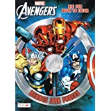Marvel Mighty Avengers? Coloring and Activity Book Set (2 Books ~ 96 pgs each) by Marvel