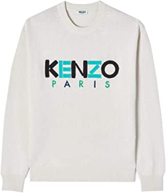 Kenzo Mens Embroidered Chest Logo Jumper