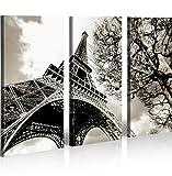 islandburner Bild Bilder auf Leinwand Eiffelturm Paris XXL Poster Leinwandbild Wandbild Art up Your Life