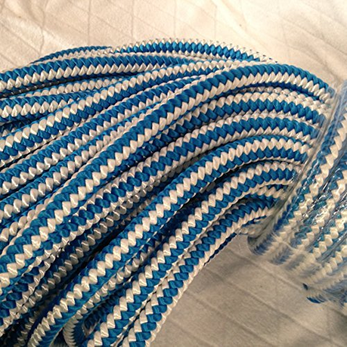 1/5,1cm von 100Fuß 12-strand Polyester blau OX Baumpfleger Kletterseil -
