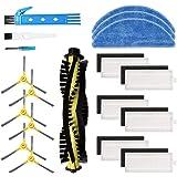 Kit accessori di ricambio per aspirapolvere robot IKOHS netbot S15, materiale premium, confezione famiglia di 1 spazzola…