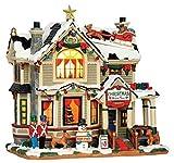 Lemax - Christmas Home Tour - Beleuchtetes Weihnachtshaus - 22,8cmx22cmx14cm - LED - Porzellan