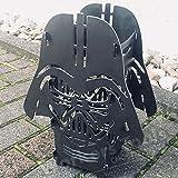 TableFire SP Darth Vader ähnlicher Tischkamin Tischfeuer Feuerstelle für Ethanol oder Kerze