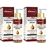 #9: St.Botanica Moroccan Argan Hair Growth Oil (Jojoba, Almond, Castor, Olive, Avocado, Rosemary)x 2Pack