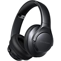 Soundcore by Anker Life Q20+ Bluetooth-Kopfhörer mit aktiver Geräuschisolierung, 40h Akkuleistung, Hi-Res Audio…