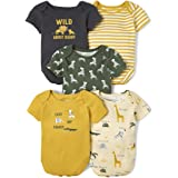 The Children's Place baby-boys Bodysuit, Pack of Five Shirt