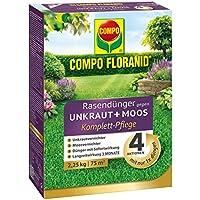 Compo floranid–Fertilizante abono contra las malas hierbas + musgo 2,25kg