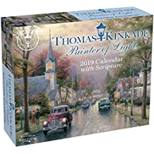 Thomas Kinkade Painter of Light with Scripture 2019 Day-to-D
