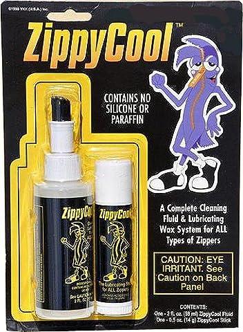 Zippy Cool ~ liquide nettoyant et lubrifiant Stick, le système de soins de la fermeture (Cerniera Sistema)