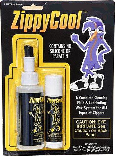Zippy Cool, Liquido Di Pulizia e lubrificante Stick, il sistema di assistenza completa (Cerniera Sistema)