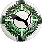 PUMA EvoPower Lite 3 290 g Fußball, White-Green Gecko Black, 5