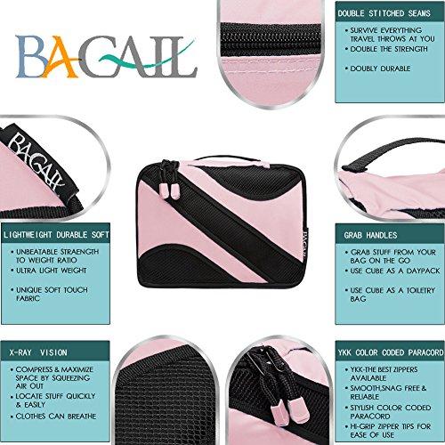 BAGAIL , Kofferorganizer, rosa