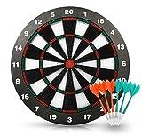 ActionDart Unisex dell' Obiettivo 1Punta Morbida Sicurezza Dart Board-Games per Kids-Leisure Sport per Ufficio (Set), 16