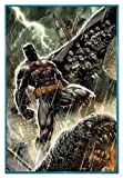 DC Comics Poster Batman Bloodshed (94x63,5 cm) gerahmt in: Rahmen Türkis