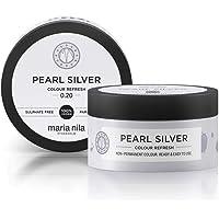 Maria Nila Colour Refresh Farbmaske Pearl Silver | Haarkur mit Violet-Pigmenten für ein Kühles Farbergebnis…