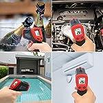 Termometro-Infrarossi-Eventek-Termometro-Laser-Termometro-Senza-Contatto-Digital-LCD-NeroRosso