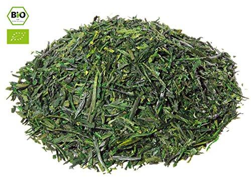 Japanischer Grüner Tee Kabusecha Asuka, BIO, Super Premium, beschattet. 50g, lose, nicht aromatisiert. Kleiner Tee-Garten Präfektur Kagoshima (Süden). Herzhaft mit frischer Süße. Direkt aus Japan
