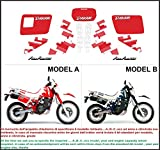 Emanuel & Co Kit adesivi Decal stikers Suzuki DR 650 R Dakar 1991 (Geben Sie Model A Oder B)
