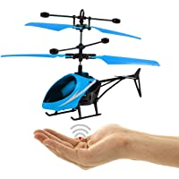 Apna Remote Control and Hand Sensor Charging Helicopter Toys with 3D Light Toys for Boys Kids (Indoor & Outdoor Flying…