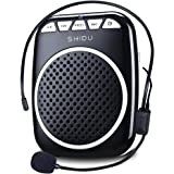 Recbot Amplificador de Voz portátil Diadema con micrófono Cable Formato de Audio MP3 para Profesores guías presentaciones Ent
