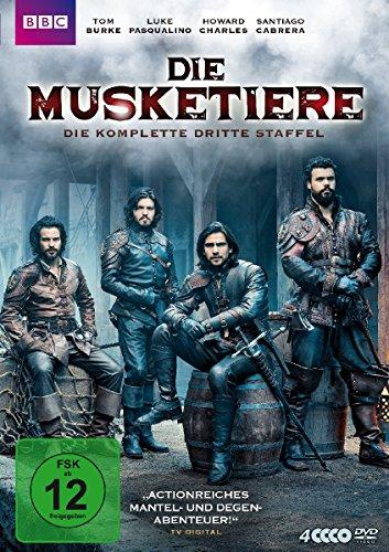 Die Musketiere - Die komplette dritte Staffel [4 DVDs]