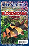 *** BUY 2 AND GET 1 FREE *** FROZEN BLOODWORMS LARGE - Fish food in 100g blister pack - Excellent for most types of freshwater and marine fish *FREE DELIVERY*