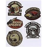 562 King Kerosin Set < Stunt Driver > AUTOCOLLANT / STICKER